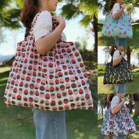 Reusable Foldable Grocery Bag Recycle Shopping Carry Bags Pouch Handbag Tote Bag