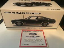 1:18 Biante Ford XB GT Falcon Coupe Black / Silver