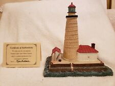 Harbour Lights 410 Spectacle Reef, Mi Lighthouse, Coa, Box #A5904 c.1995