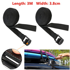 2*Multi-functional Roof Luggage Rack Buckle Belt Tensioner Surfboard Kayak Surf