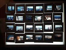 1960's Kodak Kodachrome 35mm Film Slides Foreign Boat Bridge City Water Scenes