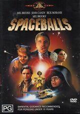 SPACEBALLS (Mel BROOKS John CANDY Rick MORANIS) Comedy Sci-Fi Film DVD Region 4