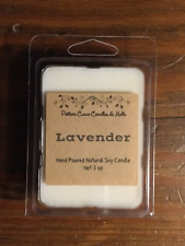LAVENDER Soy Candle Tarts - 6 Cubes- Use In  Electric Or Tealight Tart Burner