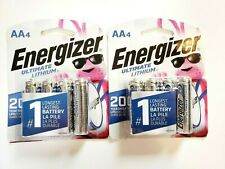 Energizer Ultimate Lithium (8) AA Batteries BRAND NEW/UNOPENED (use by 12/40)