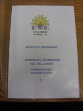 01/10/2016 Sun Sports v Hoddesdon Town  . Thanks for viewing our item, if this i