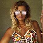 NEW QUAY French Kiss Clear / Rose Mirror Sunglasses