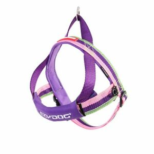 EZY-DOG QUICK FIT HARNESS HIGH QUALITY & COMFORT FOR DOG & OWNER (Bubblegum)