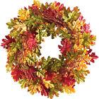 Oak Leaves Autumn Harvest Wreath