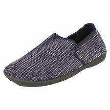 Mens Blue / Black House Full Slippers UK Sizes 7-12 : X2034