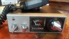 Fulcomm Arthur Fulmer CB Transceiver Model 2330 Vintage Radio
