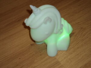 Soft Colour Changing Unicorn Bedside Lamp