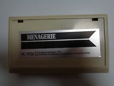 COMMODORE VC-20 / VIC-20 --> MENAGERIE (VIC-1926) / CARTRIDGE