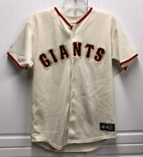 Majestic SF San Francisco Giants Buster Posey Ivory Jersey Youth Extra Large XL