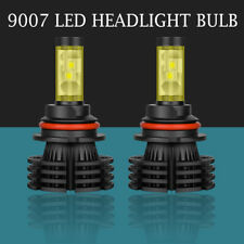 2X 9007 HB5 1700W 255000LM LED Headlight Bulbs High Low Beam 6000K HID Replace