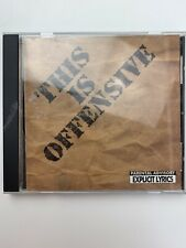 This Is Offensive by Various Artists (CD, Nov-1994, Continuum Records)