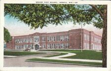 Postcard Senior High School Neenah Wi