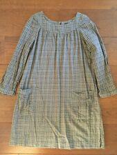 APC Checked Dress XS 100% Cotton