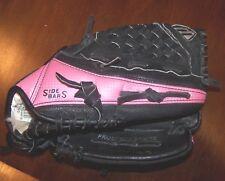 "Mizuno 10"" RHT Youth Baseball T-Ball Glove GPP 1005 Prospect Series Pink & Black"