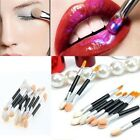 10X Pro Makeup Double-ended Eyeshadow Eyeliner Lip Cosmetic Brushes Applicator