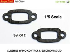 RC 1/5 SCALE EXHAUST GASKET X2 FUELIE BAJA 5B 1 SS 5SC 5T SC1 MARDER HPI ROVAN