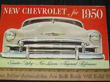 1950 Chevrolet Styleline,Fleetline Sales Brochure (CDN)