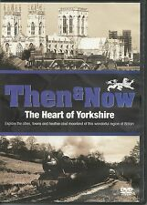 THE HEART OF YORKSHIRE - BRITAIN THEN & NOW DVD EXPLORE THE CITIES, TOWNS & MORE