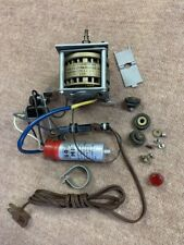 New listing 1 Empire turntable motor & starting capacitor switch & Button models 208 298 398