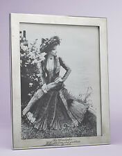 Barbra Streisand Gifted Sterling Silver Tiffany Picture Frame