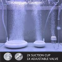 Aquarium Bubble Air Stone Pump Hydroponics Disk Diffuser Aerator Fish Tank