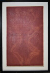 Japanese Artist HIDEO HAGIWARA Signed & Numbered Original Woodcut Abstract