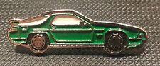 Porsche Pin 928 S4 grün lackiert 37x12mm