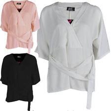 Unbranded Polyester Kimono Sleeve Tops for Women