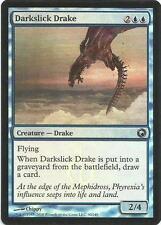 1x Foil - Darkslick Drake - Magic the Gathering MTG Scars of Mirrodin