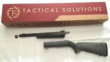 Tactical Solutions Takedown TD Ruger 1022 Green Barrel OD Gillie Green Hogue