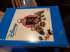 Disney Home Grown Mickey Sculpted Figurine Set By Enesco 14 Piece Set Excellent