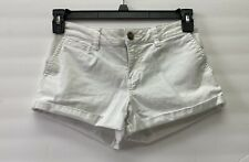 "American Rag Cie White Denim Jean Short Shorts Size 3, 28"" Waist"