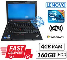 Lenovo ThinkPad X201 Intel Core i5@2.4Ghz 4GB Ram 160GB HDD Win 7 UK Delivery