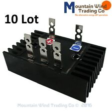 10 - 90 Amp 1000 Volts 3 Phase AC to DC Rectifier 4 Wind Turbine Generator PMA