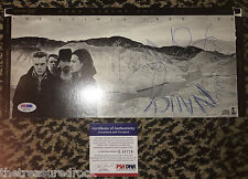 U2 Bono signed autographed THE JOSHUA TREE CD Long box 1987 PSA DNA COA NANCY