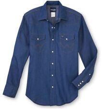 Chemises décontractées et hauts bleus pour homme