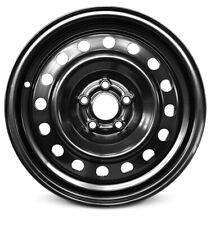 New 2000-2001 Volkswagen Beetle 15x6 Inch Black Steel Wheel Rim 5 Lug 100mm