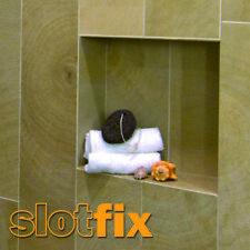 SLOTFIX | montagefertige Wandnische Duschnische Wandablage Stauraum 30x30x10cm