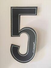 Numeri Adesivi Moto - 5 Nero