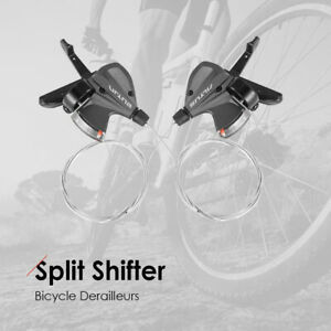 M370 Bicycle Derailleurs Aluminum Alloy Cycling 27-Speeds Split Shifters Shifter