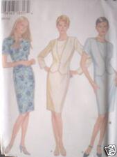 6450 Vintage UNCUT New Look SEWING Pattern FF 8 10 12 14 16 18 Dress OOP SEW