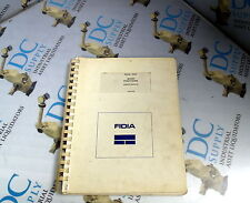 FIDIA CNC BASIC FUNCTIONS USER'S MANUAL