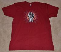 NEW! GEARS OF WAR JUDGEMENT Locust Cog Tag E3 2012 T-Shirt RED XLarge XL gowj