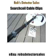 Searchcoil Cable Clips for Minelab Sd, Gp or Gpx series Metal Detectors