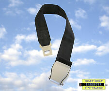 "Airplane Seat Belt Extender - Adds 8-25"" - Fits 99% - SAFETY CERTIFIED"