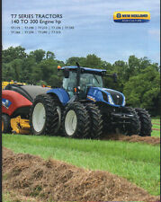 "New Holland 140 to 300hp ""T7 Series"" Tractor Brochure Leaflet"